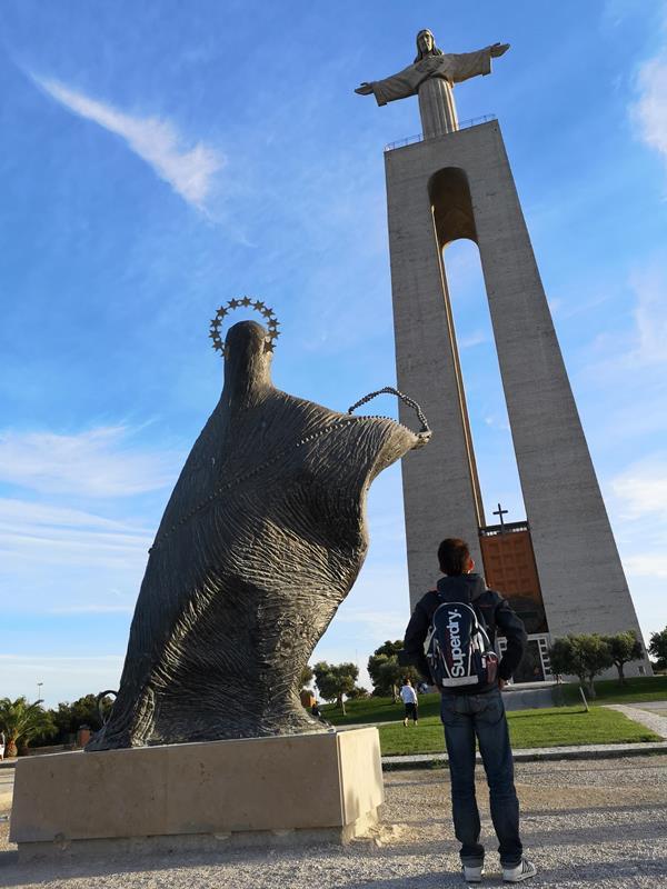 lisbonjesus01 Lisboa-里斯本大耶穌 視野遼闊眺望里斯本市區 欣賞4月25日大橋的好角度