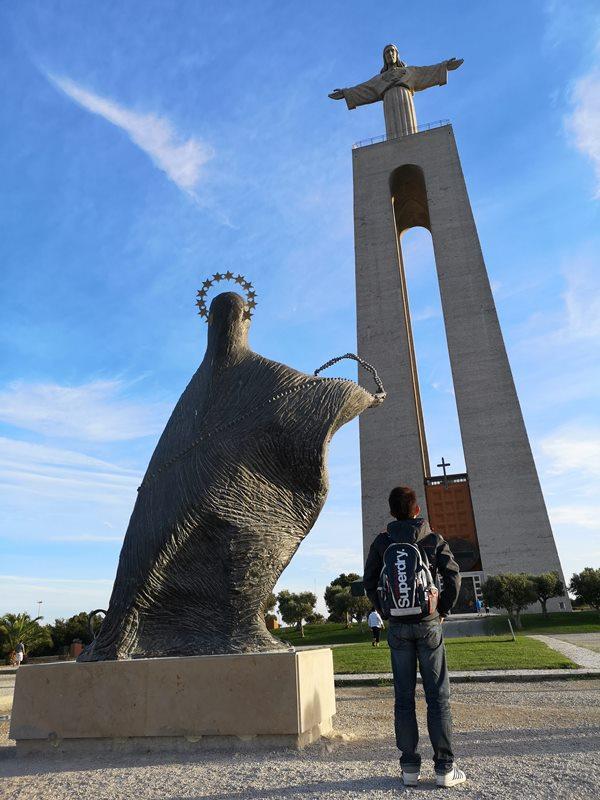 lisbonjesus18 Lisboa-里斯本大耶穌 視野遼闊眺望里斯本市區 欣賞4月25日大橋的好角度