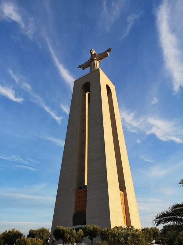 lisbonjesus23 Lisboa-里斯本大耶穌 視野遼闊眺望里斯本市區 欣賞4月25日大橋的好角度