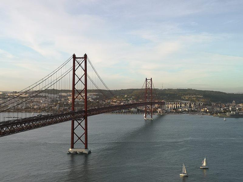lisbonjesus24 Lisboa-里斯本大耶穌 視野遼闊眺望里斯本市區 欣賞4月25日大橋的好角度