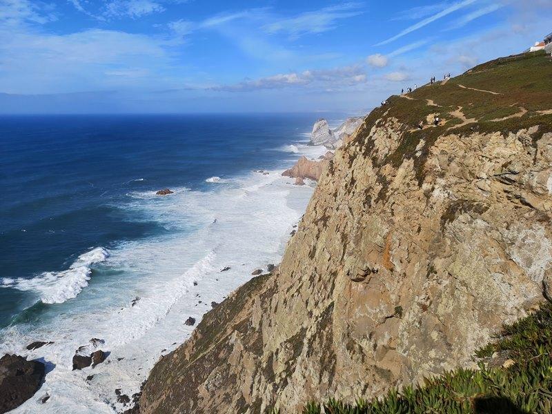 rocacape16 Lisboa-羅卡角Roca Cape歐洲大陸最西端 眺望大西洋 想像航海時代乘風而去的英雄