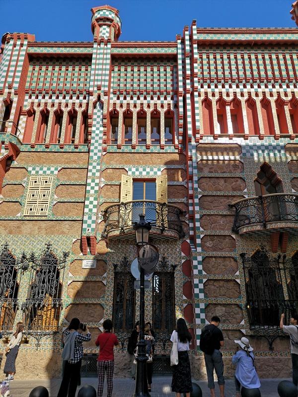 Vicens1112 Barcelona-巴塞隆納世界文化遺產 高第建築  巴特略之家/文森之家