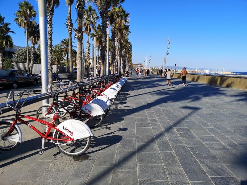 barcelonabeach18 Barcelona-嗨!地中海你好!! 巴塞隆納海岸Platja de la Barceloneta 海天一線超美