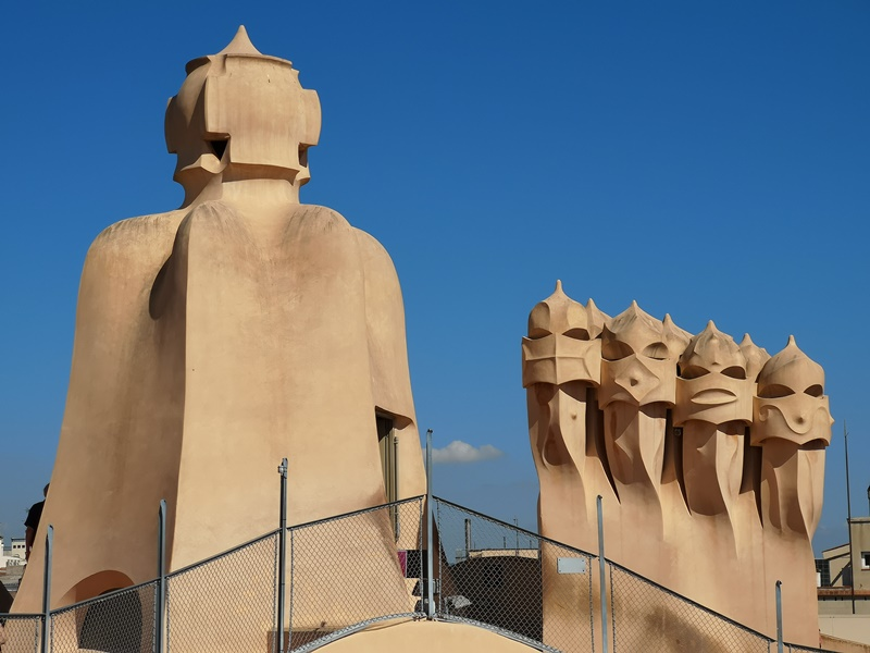 casamila14 Barcelona-巴塞隆納世界文化遺產 高第建築米拉之家 來自外星的設計