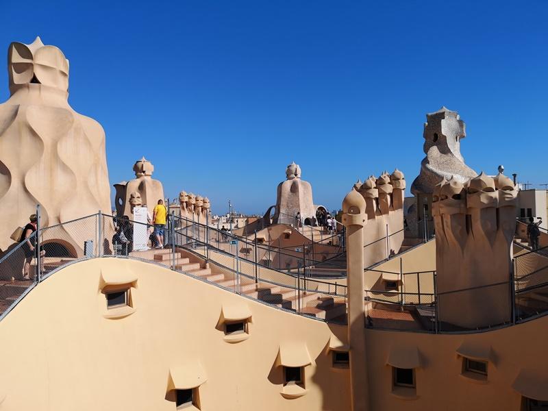 casamila17 Barcelona-巴塞隆納世界文化遺產 高第建築米拉之家 來自外星的設計