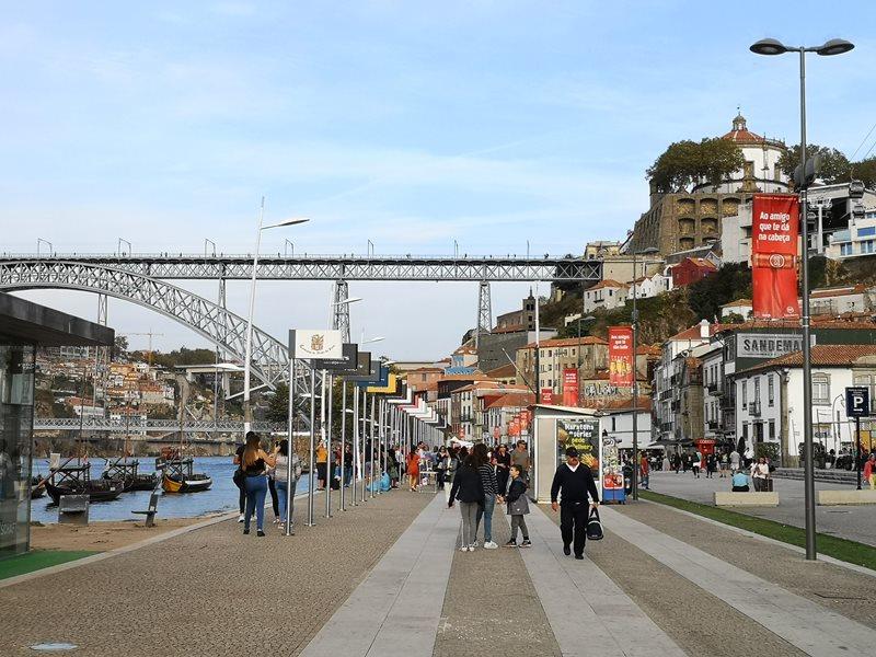 luiz1bridge69 Porto-歐洲第一名的觀光城市波多 Douro河岸風光綺麗 路易一世鐵橋壯觀