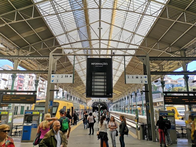 portosanbentotrain07 Porto-波多到里斯本 體驗葡萄牙國鐵頭等艙
