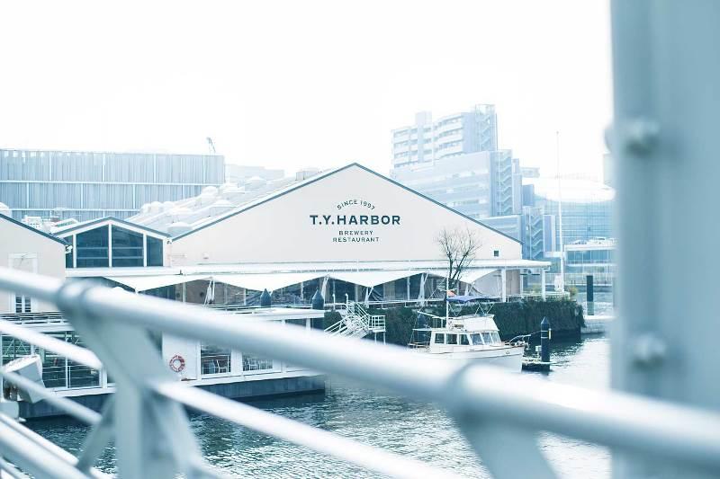 tyharbourr Shinagawa-T.Y.Harbor鮮釀啤酒配美味佳餚 好景觀好浪漫也好好吃 天王洲Isle的特色餐廳