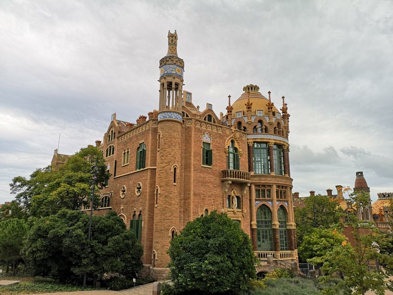 barcelonasantpau19 Barcelona-聖十字聖保羅醫院 巴塞隆納現在主義建築三傑之多明尼克...世界文化遺產