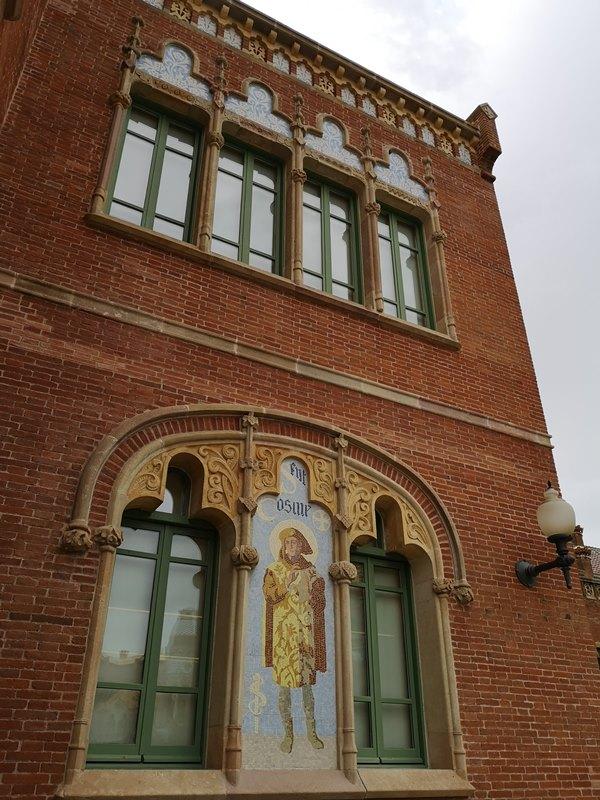 barcelonasantpau23 Barcelona-聖十字聖保羅醫院 巴塞隆納現在主義建築三傑之多明尼克...世界文化遺產