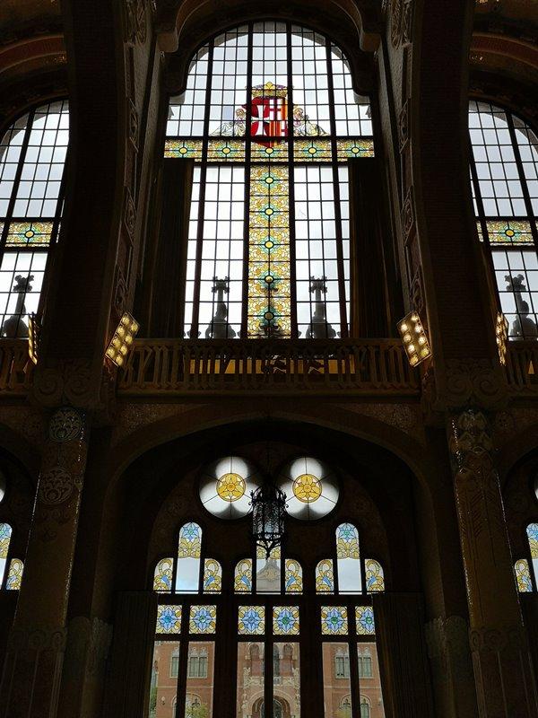 barcelonasantpau38 Barcelona-聖十字聖保羅醫院 巴塞隆納現在主義建築三傑之多明尼克...世界文化遺產