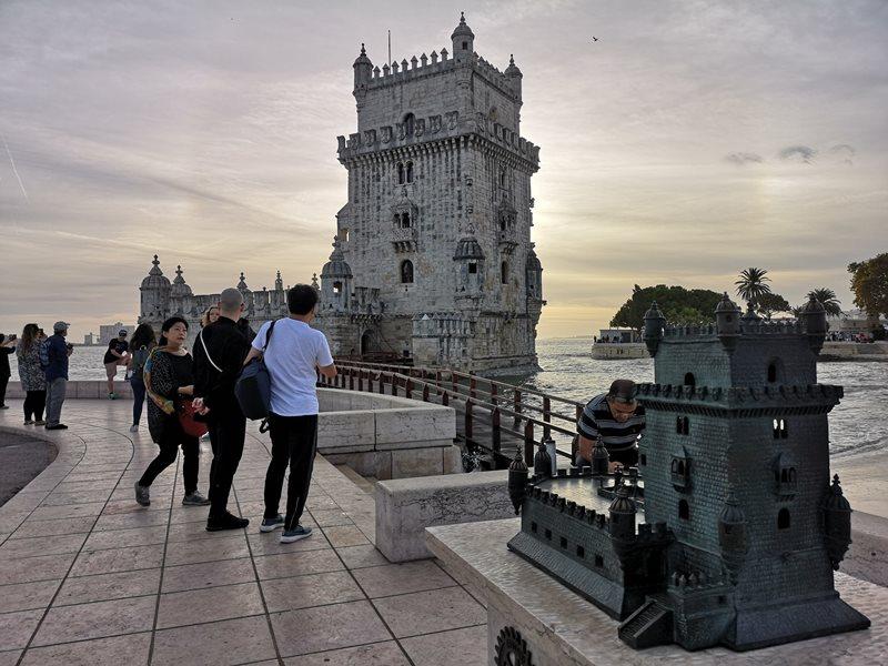 belemtowerr12 Lisboa-護衛里斯本的港區貝倫塔 世界文化遺產與湊熱鬧的發現者紀念碑