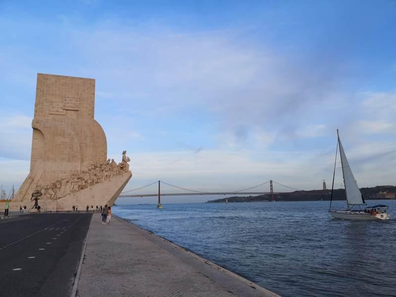 belemtowerr20 Lisboa-護衛里斯本的港區貝倫塔 世界文化遺產與湊熱鬧的發現者紀念碑