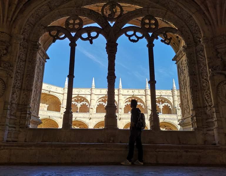 lisbonmosteiro25 Lisboa-里斯本貝倫區 哲羅姆派修道院 世界文化遺產 融合各種風格的美麗建築...