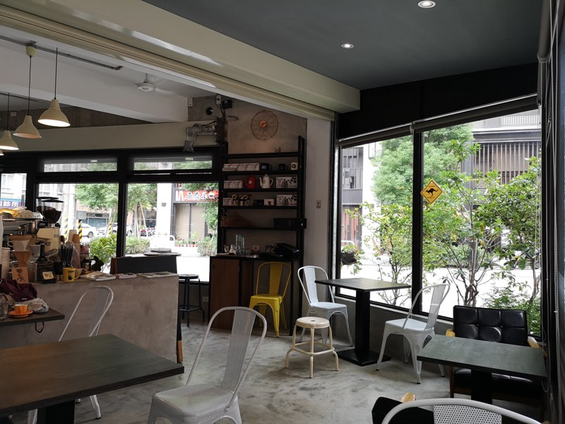 solocafe07 桃園-藍色是憂鬱 一個人的Solo Coffee