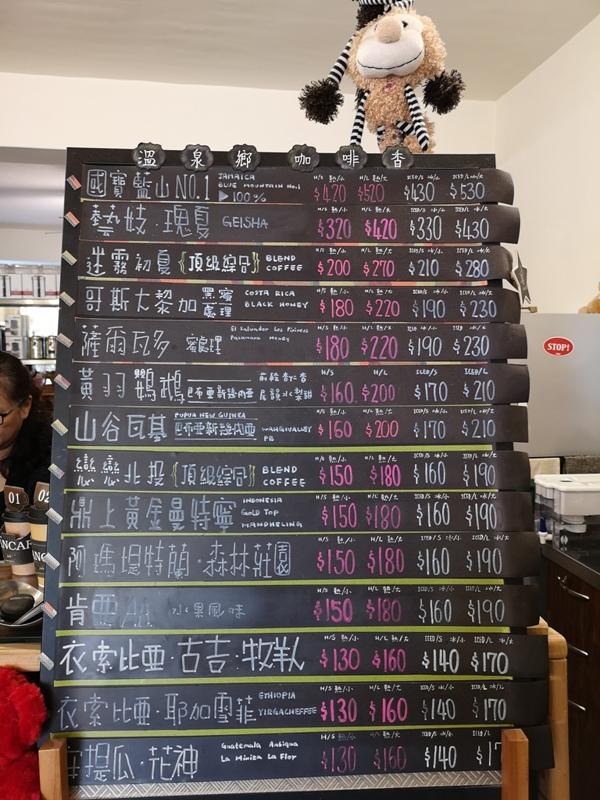 beancoffee02 北投-豆咖啡 捷運軌道下隱密咖啡館 單品選擇多