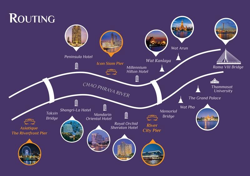 home-routing Bangkok-曼谷Chao Phraya Princess昭披耶河公主號 有吃有玩賞美景