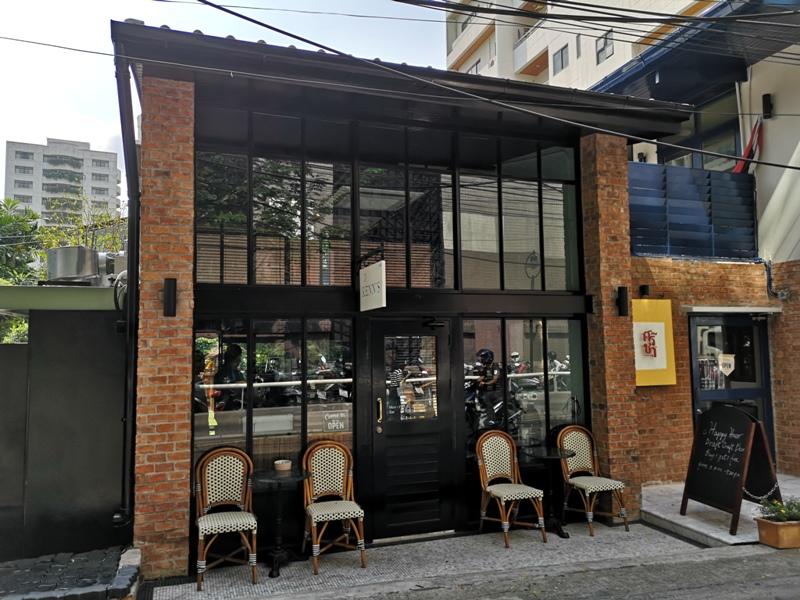 kenncafe02 Bangkok-曼谷金融區Chong Nonsi小店Kenn's Cafe香鬆可頌濃郁咖啡 美味的早茶