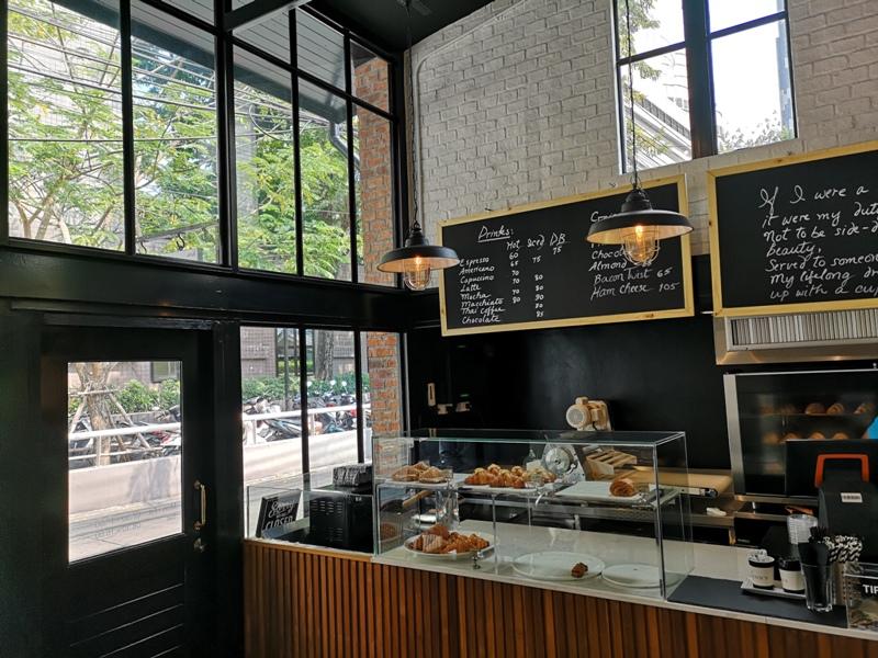 kenncafe04 Bangkok-曼谷金融區Chong Nonsi小店Kenn's Cafe香鬆可頌濃郁咖啡 美味的早茶