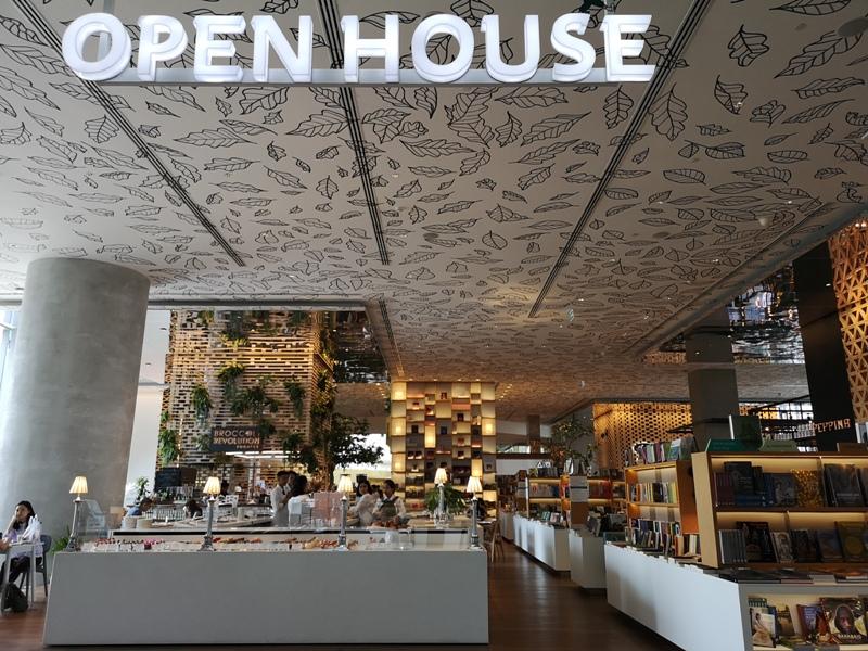 openhouse01 Bangkok-曼谷精品百貨Central Embassy最美的書店Open House