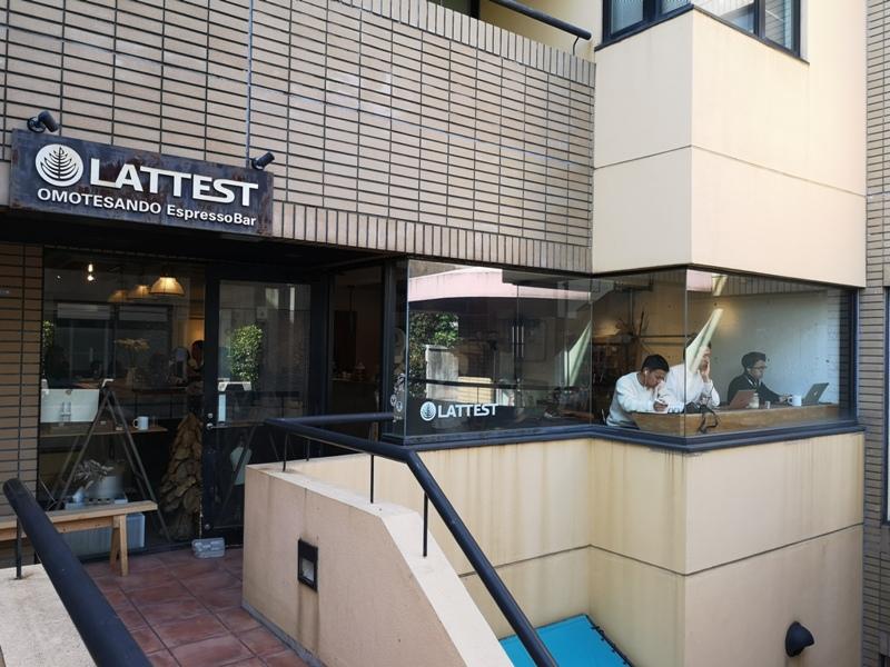 lattestcofffee02 Omotesando-Lattest Espressso Bar表參道小巷內超多可愛小店...走累了來杯拿鐵