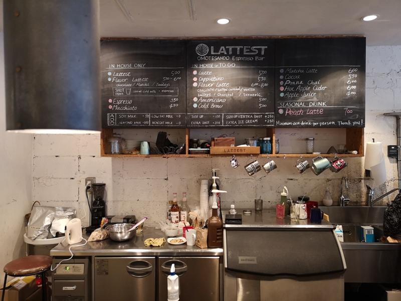 lattestcofffee12 Omotesando-Lattest Espressso Bar表參道小巷內超多可愛小店...走累了來杯拿鐵