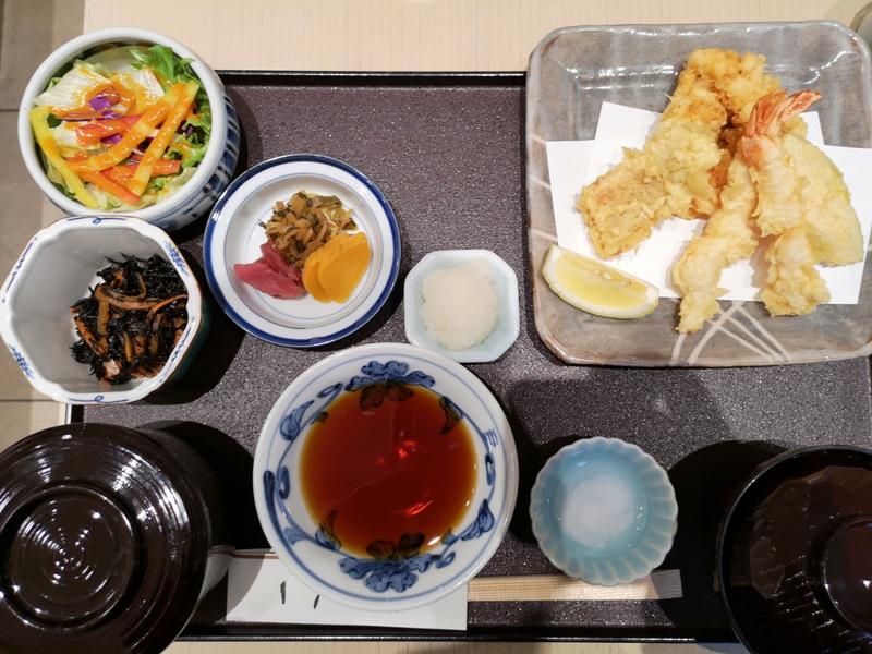 tenone07 Nihonbashi-天一 日本橋高島屋 天婦羅也可以爽口好吃