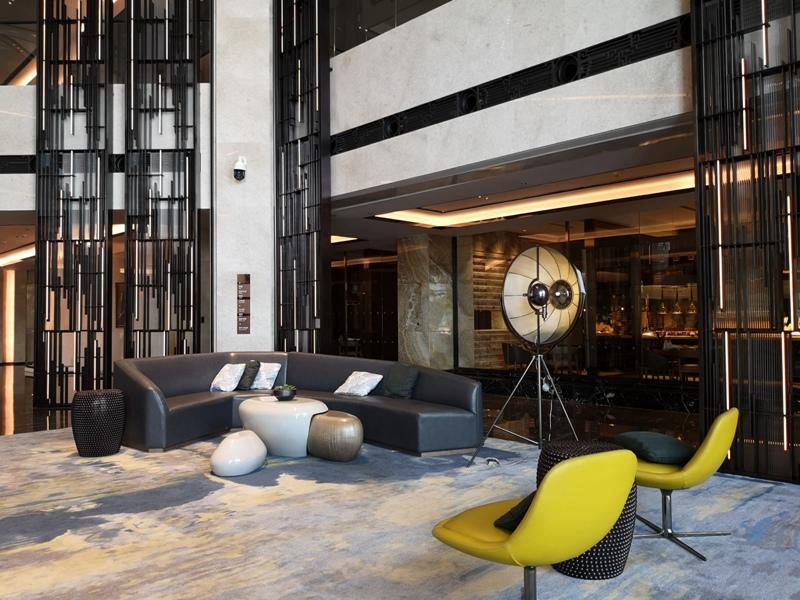 xiamenmarriott09 Xiamen-廈門泰地萬豪酒店 乾淨的發亮的窗戶與地板...新的就是好