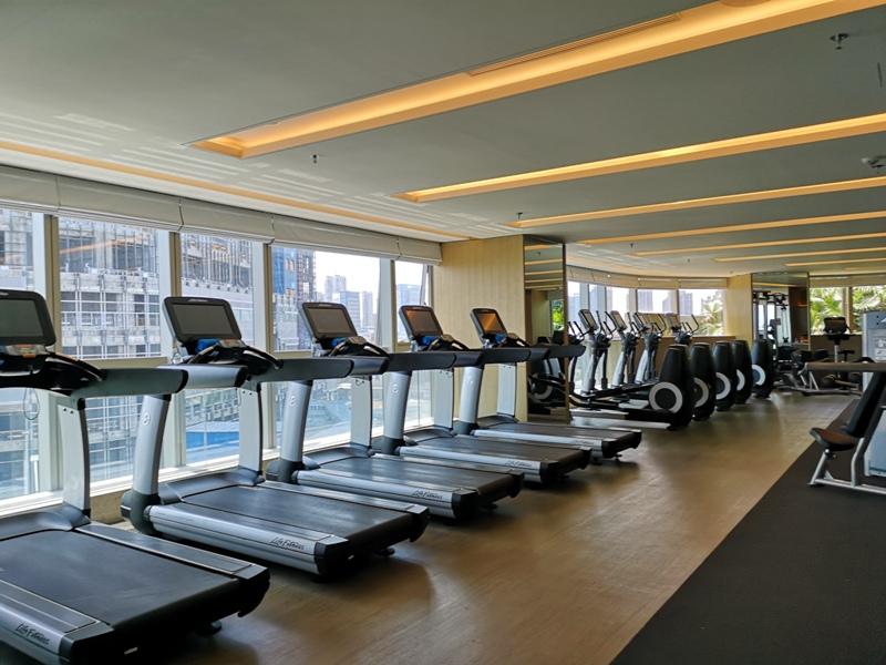 xiamenmarriott44 Xiamen-廈門泰地萬豪酒店 乾淨的發亮的窗戶與地板...新的就是好