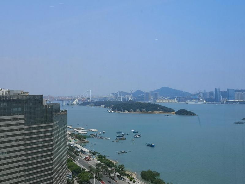 xiamenmarriott47 Xiamen-廈門泰地萬豪酒店 乾淨的發亮的窗戶與地板...新的就是好