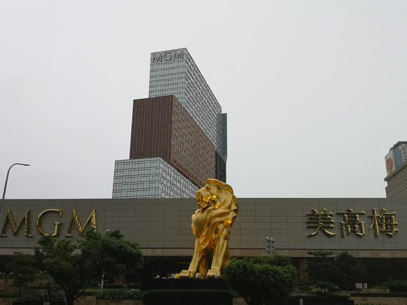 mgm001 Macao-澳門美獅美高梅MGM宛如美術館的購物中心 賭也要賭的優雅