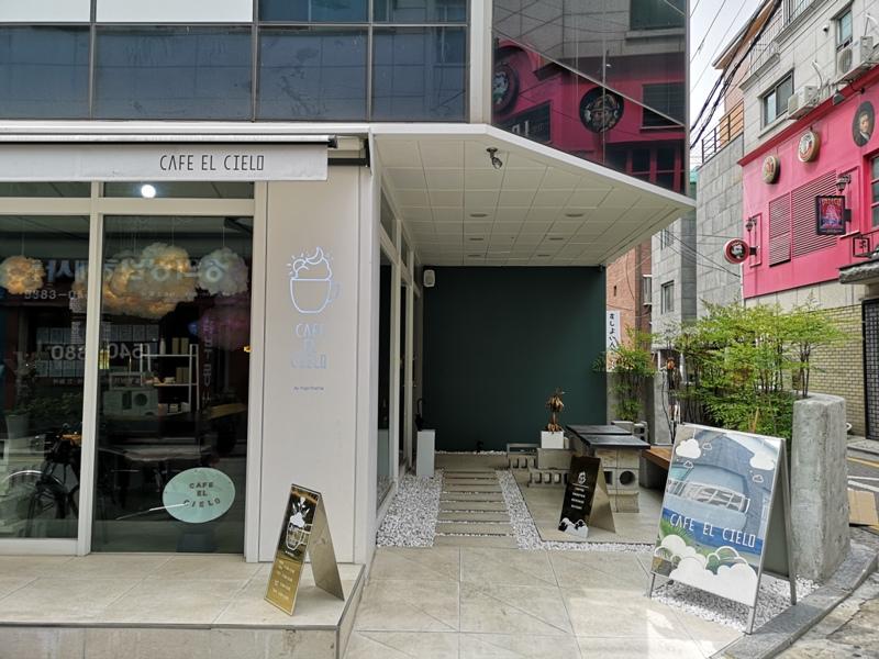 cafeel02 Seoul-Cafe El Cielo 男模幫你沖咖啡 首爾新沙洞時尚夢幻咖啡館