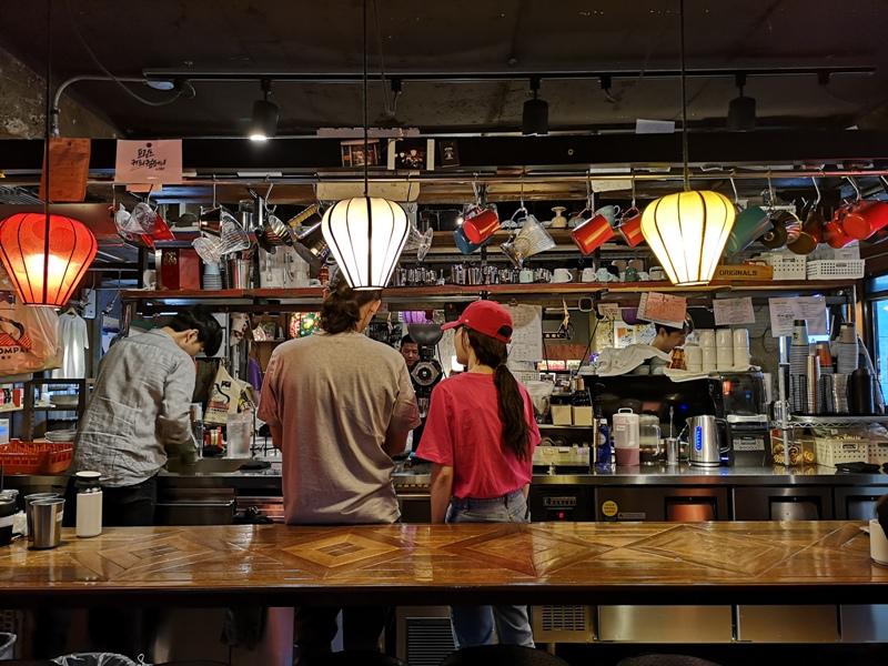 fritzcoffee13 Seoul-Fritz Coffee(麻浦分店) 首爾韓屋咖啡館人氣麵包與冠軍咖啡