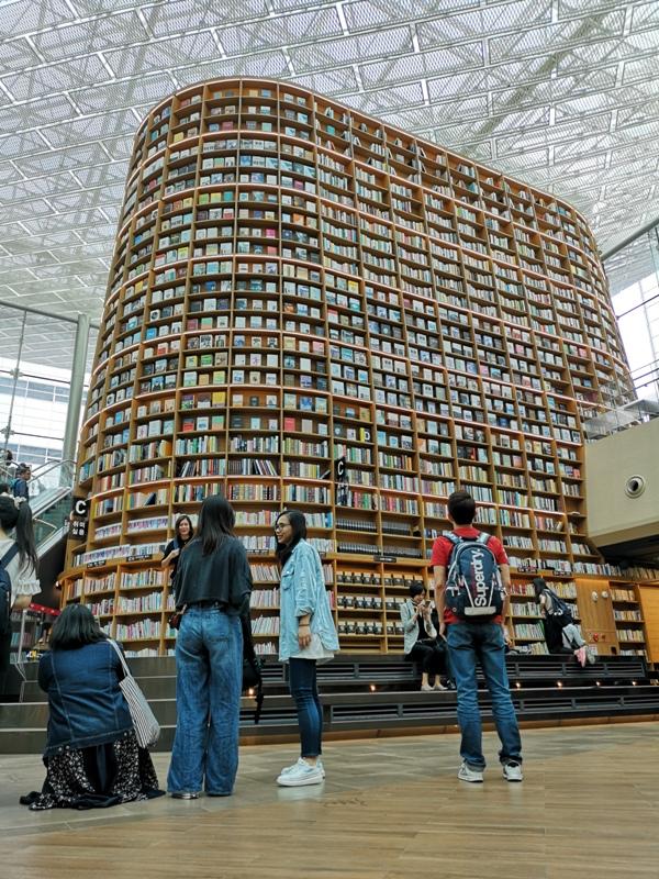starfieldlibrary13 Seoul-首爾IG打卡熱點COEX MALL Starfield Library星空圖書館 超好拍