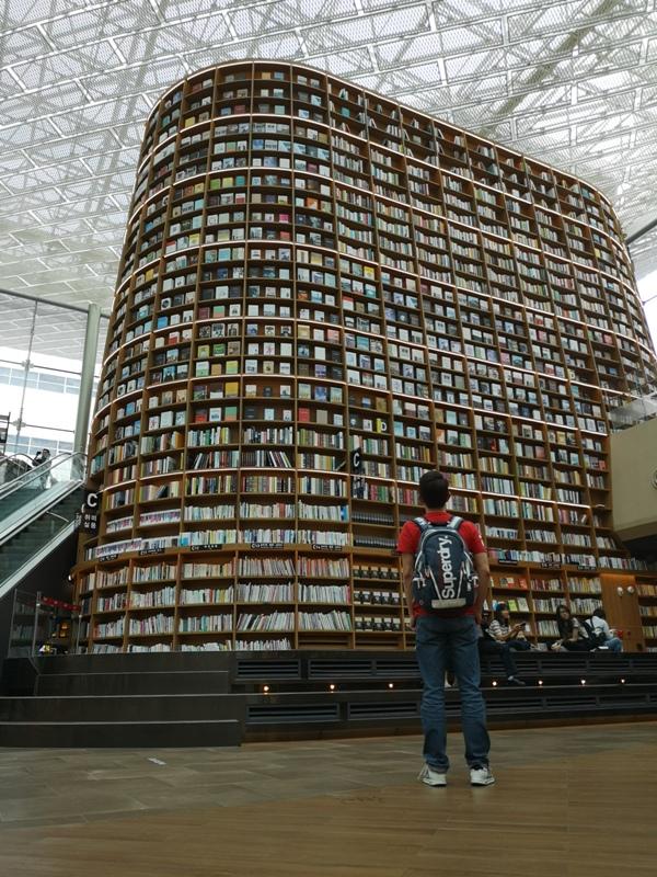 starfieldlibrary14 Seoul-首爾IG打卡熱點COEX MALL Starfield Library星空圖書館 超好拍