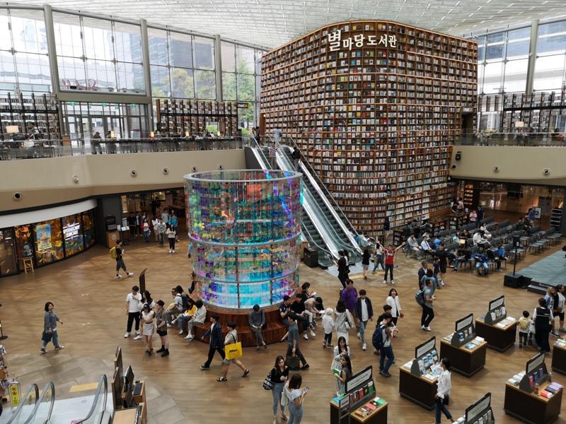 starfieldlibrary16 Seoul-首爾IG打卡熱點COEX MALL Starfield Library星空圖書館 超好拍