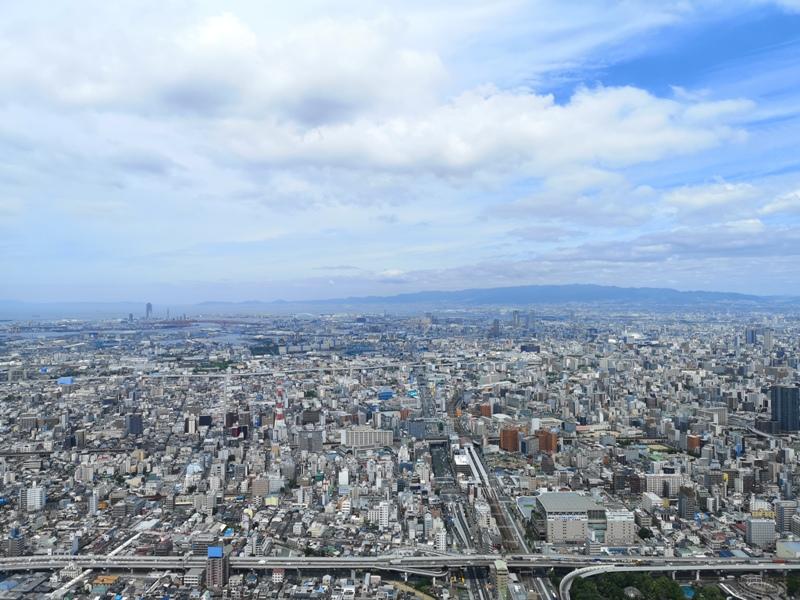 abenoharukas0109 Tennoji-阿倍野Harukas 300展望台 日本最高樓的大阪景觀