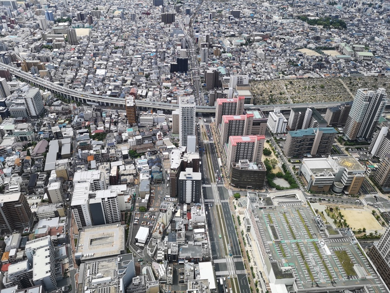 abenoharukas0112 Tennoji-阿倍野Harukas 300展望台 日本最高樓的大阪景觀