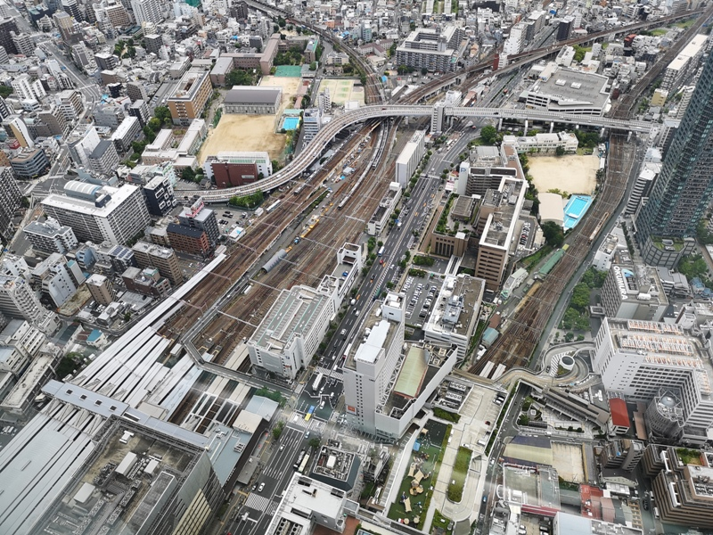 abenoharukas0113 Tennoji-阿倍野Harukas 300展望台 日本最高樓的大阪景觀