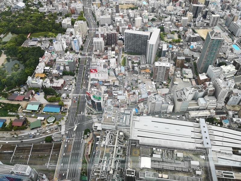 abenoharukas0114 Tennoji-阿倍野Harukas 300展望台 日本最高樓的大阪景觀