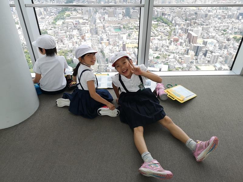 abenoharukas0118 Tennoji-阿倍野Harukas 300展望台 日本最高樓的大阪景觀