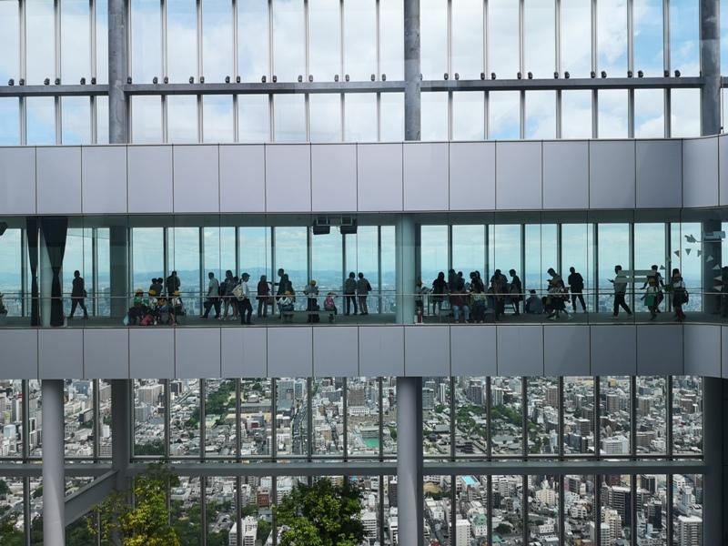 abenoharukas0127 Tennoji-阿倍野Harukas 300展望台 日本最高樓的大阪景觀
