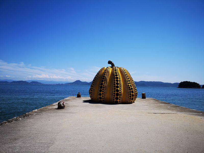 pumpkin10 Naoshima-黃南瓜紅南瓜 草間彌生的點點世界 快來直島找南瓜
