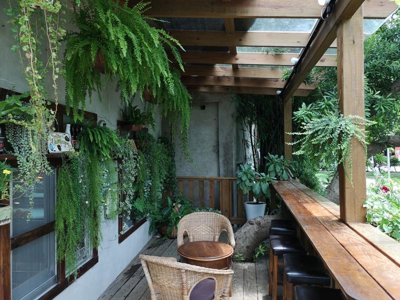 redbrick12 竹北-新瓦屋紅瓦紫藤 在花園也是花園的超綠意咖啡館
