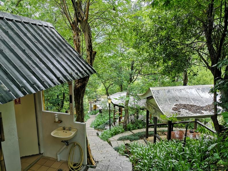 yyteahouse12 文山-貓空邀月茶坊 雨中的清涼 蛙鳴鳥叫的陪伴 一個下午的悠閒