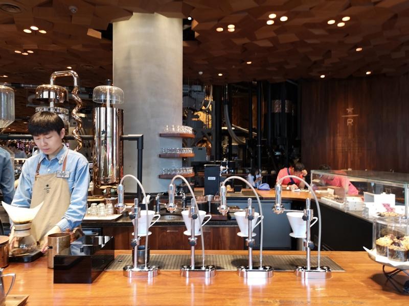 starbucksSH19 Shanghai-上海臻選咖啡烘焙工坊 咖啡製作流程大公開