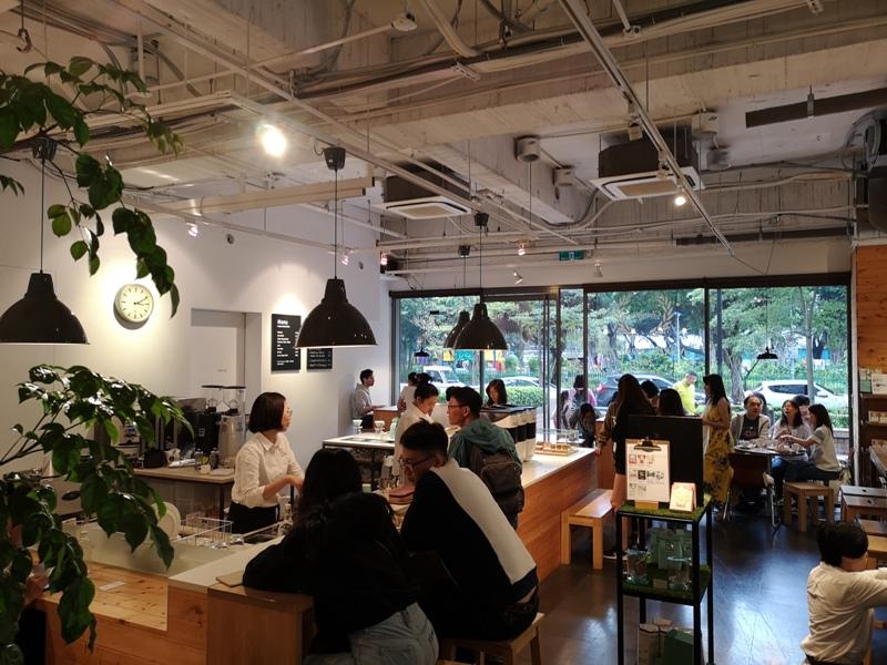 fikafika11 中山-Fika Fika Cafe幽靜的伊通公園 熱鬧的北歐簡約咖啡館