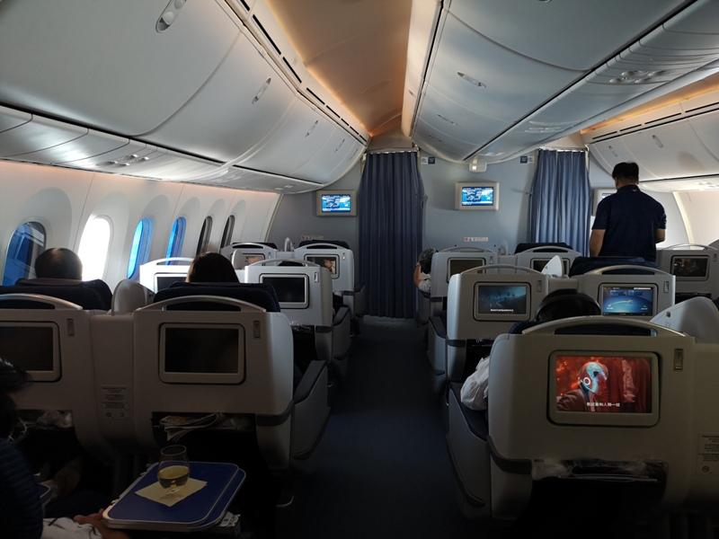 flyvie06 201909台北維也納 ANA787-9夢幻客機商務艙初體驗