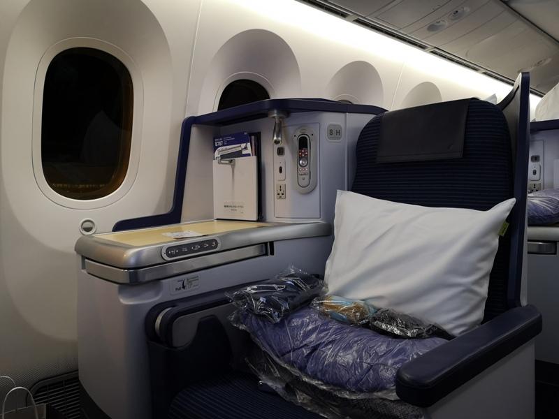 flyvie34 201909台北維也納 ANA787-9夢幻客機商務艙初體驗