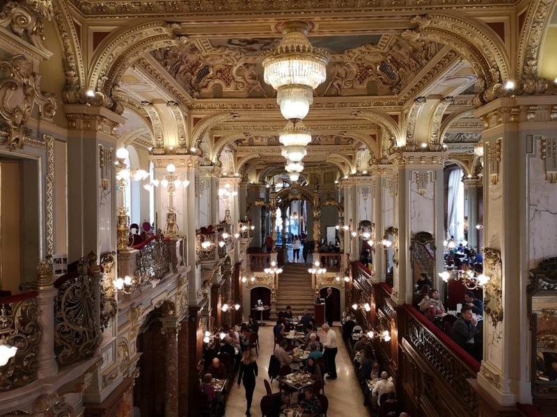 newyorkcafe20 Budapest-New York Cafe宮殿般奢華 世界最美咖啡館之布達佩斯紐約咖啡